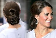 Kate Middleton.   Always lovely and so real with everyone she meets
