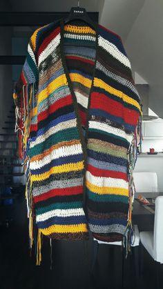 Poncho de Soay #handmade #crochet #poncho #soay