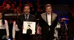 John Newman and Jimmy Fallon