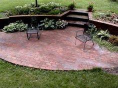Brick Patios | Would Like To Build An Authentic Brick Patio. Is There A  Special