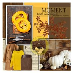 Yellow & Brown by anna-nemesis on Polyvore featuring polyvore, fashion, style, Ralph Lauren Black Label, Michael Antonio, Mulberry, Cyrus, autumnstyle, Autumncolors and autumn2015