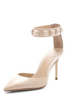 Brian Atwood Studded Ankle Strap Heel #brianatwoodheelsfashion #brianatwoodheelsanklestraps