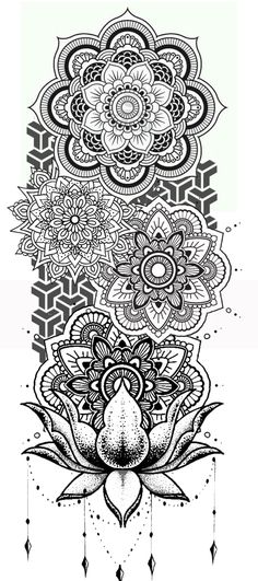 - Tattoo ordner - You are in the right place about Mandala Mandala Tattoo Design, Dotwork Tattoo Mandala, Mandala Drawing, Mandala Art, Geometric Mandala Tattoo, Tattoo Maori, Cute Tattoos, Leg Tattoos, Tattoos For Guys