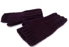 Bio Fingerlose Handschuhe Baby bis 18 M. Violett von frostpfoetchen auf DaWanda.com