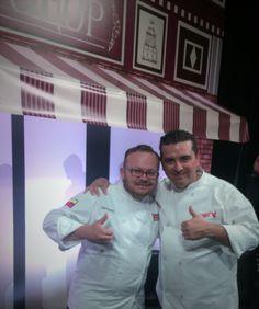 Con Buddy Valastro, una persona muy sencilla, un excelente pastelero y un excelente empresario, hay mucho que aprender.