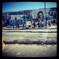 Palestina - Il muro e i giovani
