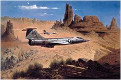 F-104 Lockheed Starfighter, a Mach 2 interceptor.1958-1969. More than 2000 built. Served in NORAD, point defense in Vietnam briefly and with NASA.