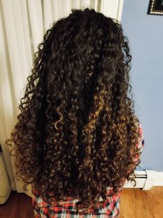 My naturally curly hair