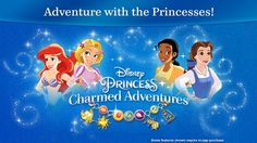 Disney has launched a new mobile game titled Disney Princess Charmed Adventures. Here is everything you need to know including images. Princess Charming, Disney Princess Jasmine, Princess Adventure, Disney Charms, Game Title, Inspiration For Kids, Mobile Game, Product Launch, Charmed