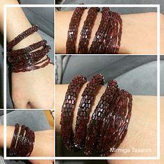 #kırmızı #red #boncuk #beads #bordo #bileklik #kolye #takı #taki #handmade #tasarim #kırmızıbileklik #aksesuar #bordobileklik #10marifet #1000marifet #jewellery #jewelry #jewelrymaking #fashionjewelry #jewellerydesign #instajewelry