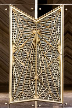 Restored Art Deco grilles for the lobby of Stella Tower at 425 West 50th Street, NYC.