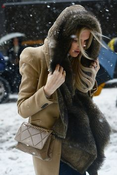 Winter Chic style.
