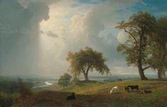 California Spring. Albert Bierstadt. American. 1875. Oil on canvas.