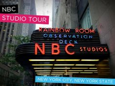 nbc studio tour every 15 minutes til 8:30