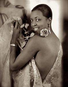 "'Ethel Waters, famed blues singer and actress, was born in Chester, PA, on this date October 31, 1900. Waters, a popular figure during the ""Harlem Renaissance,"" won best supporting actress for her role in Pinky (1949). ""Down Home Music"" and ""Oh Daddy"" were some of her famous songs.'-(photo: Ethel Waters)-- CARTER Magazine"