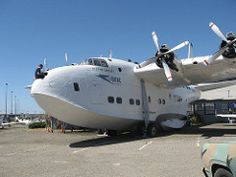 wam northfield oakland california oak opencockpitday shortbrothers solent flying boat boac oaklandaviationmuseum formerlywesternairmuseum outdoors open sky thingstosee placestogo sanfranciscobayarea plane airplane aviationwrecksrelics aviation wrecks relics gaknp n9946f short mk iii interior passenger seat upstairs indiana jones hat theraidersofthelostark raiders lost ark harrison ford adventure movie aerospace museum 4engine reproduction retired 1950 howard hughes tool company best three…