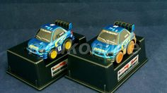 CHORO-Q RALLY COLLECTION 2004 | SUBARU IMPREZA WRC STI | START FINISH SET