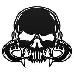 Skull Sticker Decal