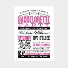 51 Best Bachelorette Party Invitations Images Bachlorette Party