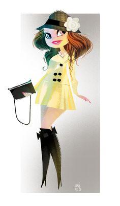 Character Design Page - Character Design Page blog