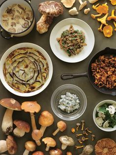 ... recipe for mushroom gratin, which is a modern update on a 1980s dish