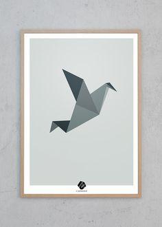 Plakaten er designet af Michelle Munkholm og er én i rækken af 5 forskellige motiver fra serien Nordic Animals. JS giver altid FRI FRAGT på alle ordrer til Danmark