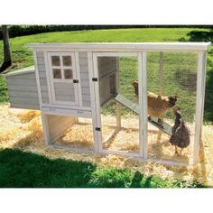 Chicken coop! We could fit this in the yard......