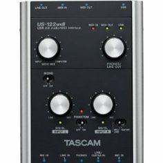 Tascam US122MKII USB Audio/Midi Interface Promo Offer - http://dr07tascam.com/tascam-us122mkii-usb-audiomidi-interface-promo-offer/