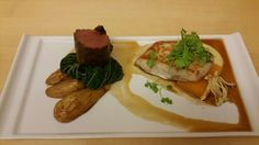 Surf and Turf entree Surf And Turf, Baked Potato, Entrees, Innovation, Mexican, Baking, Dinner, Ethnic Recipes, Food