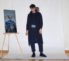Blue Blood Style, Men's Haircut, Studio Shoot, Bohemian, Street Style, Men's Fashion, sphynx cats