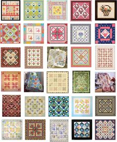 30 free patterns for basket quilts from Quilt Inspiration