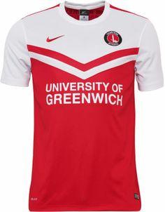 Charlton Athletic 2014-15 Nike Home Kit Charlton Athletic Fc, University Of Greenwich, Championship League, Football Jerseys, Sports Shirts, Vintage Shirts, Soccer, Nike, England