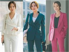 Fashion In, Young Fashion, Office Fashion, Korean Fashion, Fashion Outfits, Park Min Young, Secretary Outfits, Office Looks, Seong
