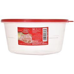 Click here to enlarge Betty Crocker Easy Seal Round Storage Containers, 72 oz.
