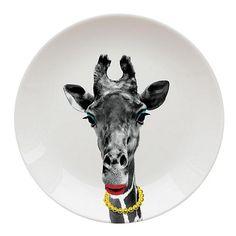 Tesco direct: Wild Dining Dinner Plate, Giraffe