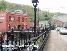 Downtown Eureka Springs Arkansas - Come check us out!