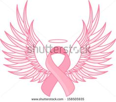breast cancer awareness angel eBay
