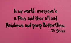 Dr Seuss.. lol!!!
