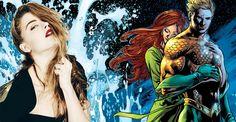 Amber Heard vai gravar Liga da Justiça e Aquaman em sequência!