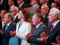Queen Rania attended the launch of National Strategy