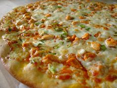 A Taste of Home Cooking: Buffalo Chicken Pizza