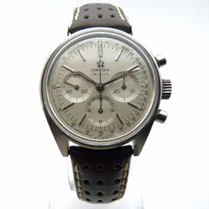 Omega De Ville Chronographe 861 calibre Ref. Simple Watches, Modern Watches, Vintage Watches, Luxury Watches, Cool Watches, Watches For Men, Breitling, Rolex, Vintage Omega