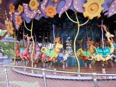 Universal Studios Florida: Best Carousel  Dr Seuss