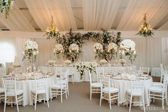 Snowy White Opulent Canada Wedding - MODwedding