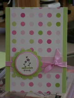 card making. Love the simplicty  and the colors