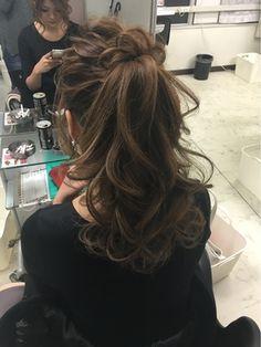 HAIR SET SALON SKEETER 中区栄錦店 【ヘアセットサロンスキーター】ゆるふわポニーテール★