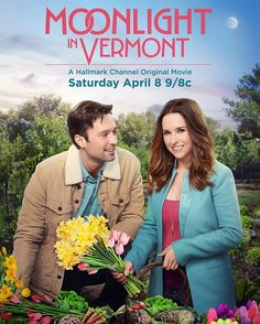 Moonlight in Vermont - Wanted to let you know my latest @hallmarkchannel movie will air April 8 at 9/8c Please set your dvr! #springfling