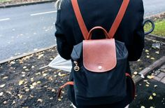 Youth is not a travel,it is a state of mind.Longchamp #Backpack