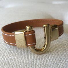 Camel & Gold Bracelet by KerryEquestrian on Etsy