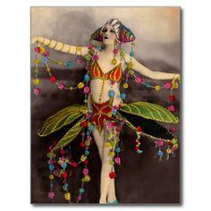 of the 1920 s includes casino de paris folies bergere and moulin rouge Cirque Vintage, Vintage Circus, Vintage Burlesque, Vintage Photographs, Vintage Images, Vintage Art, French Images, Pierrot Clown, Illustration